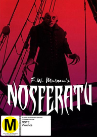 Nosferatu on DVD