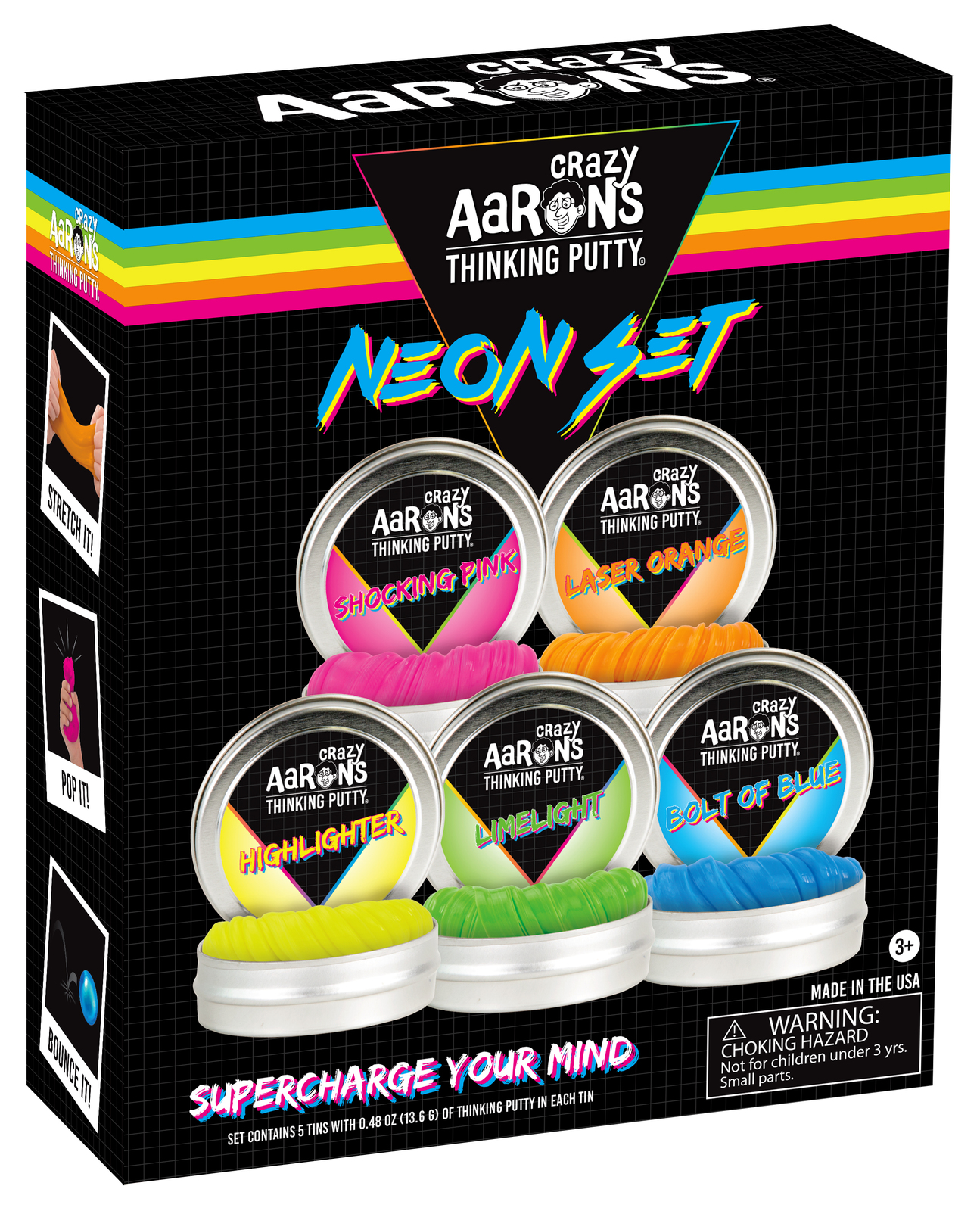 Crazy Aarons: Thinking Putty - Neon Set image