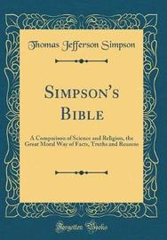 Simpson's Bible by Thomas Jefferson Simpson