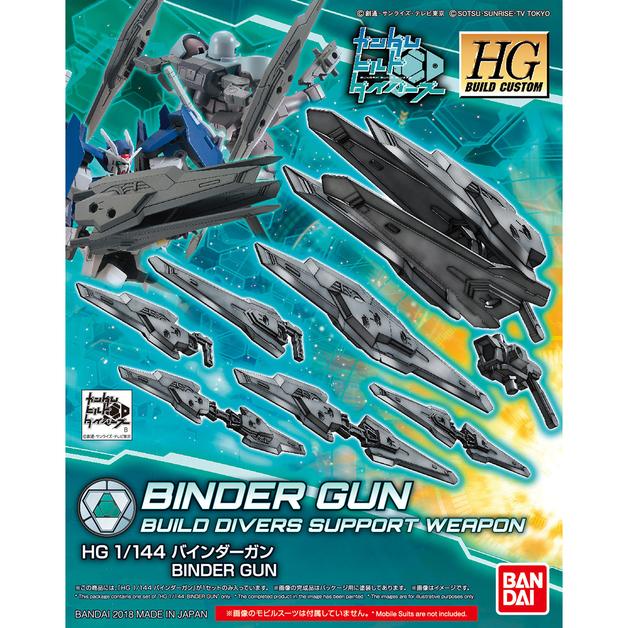 HGBC 1/144 Binder Gun - Model Kit