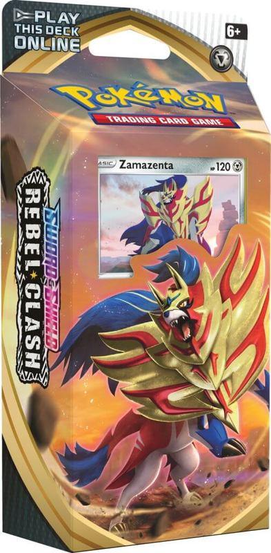 Pokemon TCG: Sword and Shield Rebel Clash Theme Deck- Zamazenta