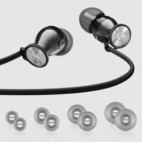 Sennheiser Momentum In-Ear I Headphones (iOS Version) - Black Chrome