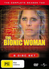 The Bionic Woman - Complete Season 2 (6 Disc Set) on DVD