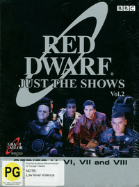 Red Dwarf - Just The Shows: Volume 2 - Series 5-8 on DVD image
