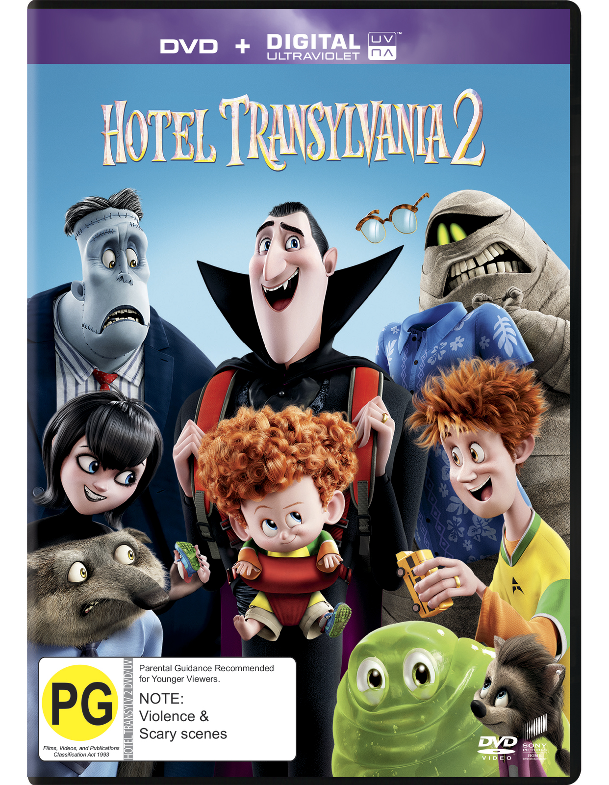 Hotel Transylvania 2 on DVD image