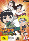 Naruto Spin-off: Rock Lee And His Ninja Pals Part 2 (eps 27-51) on DVD