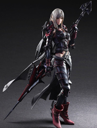 Final Fantasy XV: Aranea Highwind - Play Arts Kai Figure