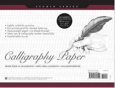 Calligraphy Paper Pad (Studio Series) image