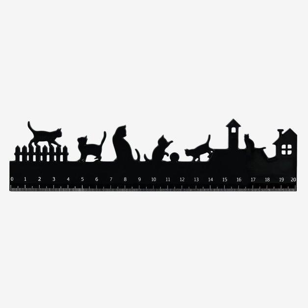 Legami: Follow The Ruler Acrylic - Kittens
