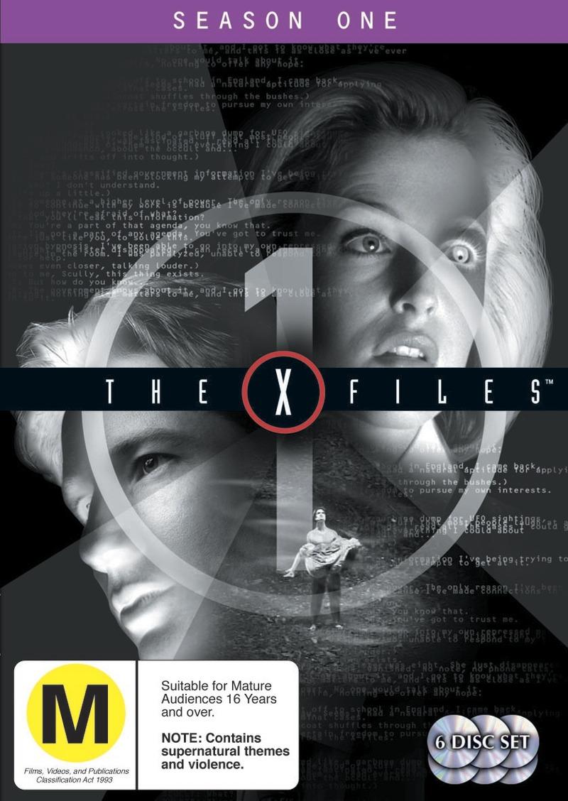 The X-Files - Season 1 (6 Disc Set) on DVD image