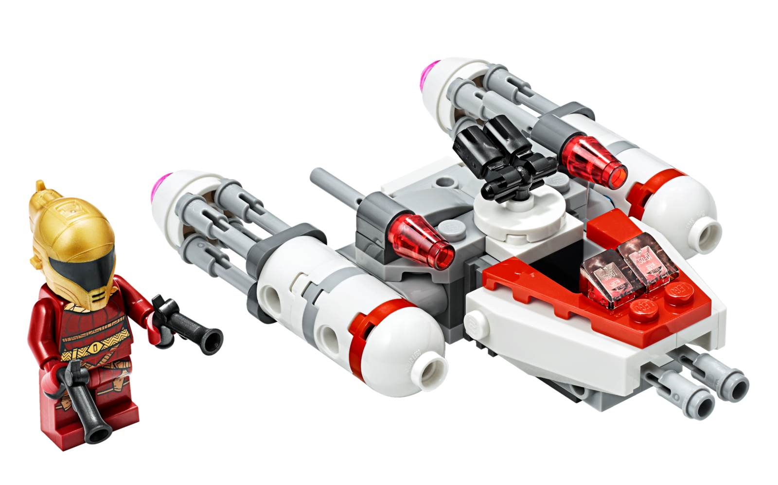 LEGO Star Wars: Resistance Y-wing - Microfighter (75263) image