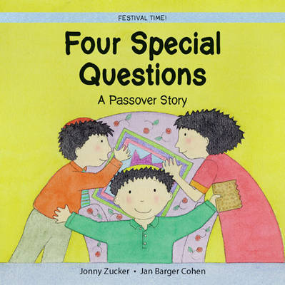Four Questions: A Passover Story by Jonny Zucker image