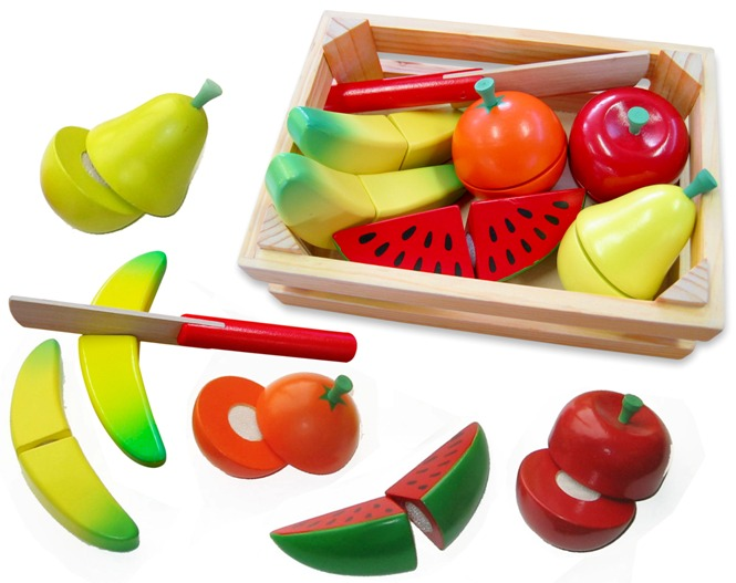 Fun Factory: Cutting Fruit Crate image