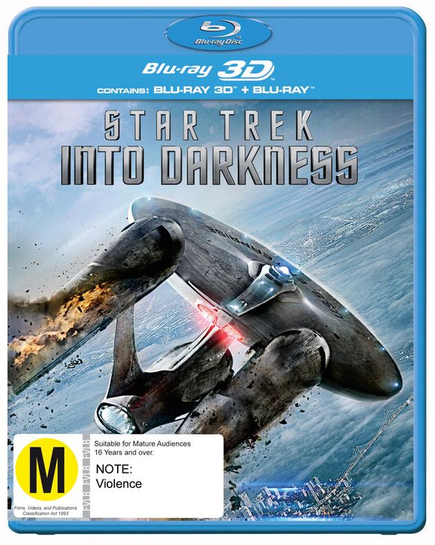 Star Trek: Into Darkness on Blu-ray, 3D Blu-ray