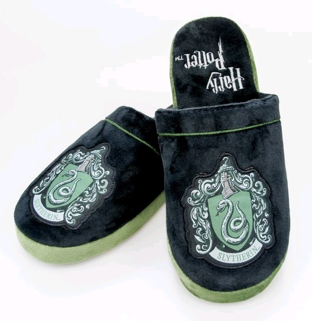 Harry Potter - Slytherin Slippers (Large) image
