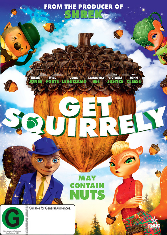 Get Squirrely on DVD