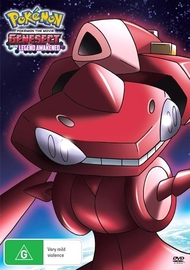 Pokemon Movie 16: Genesect & the Legend Awakened on DVD
