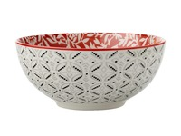 Maxwell & Williams - Boho Bowl Damask Red (18cm)