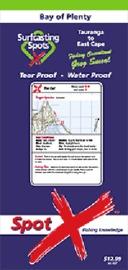 Spot X Bay of Plenty - Eastcape Map: Surfcasting Spots