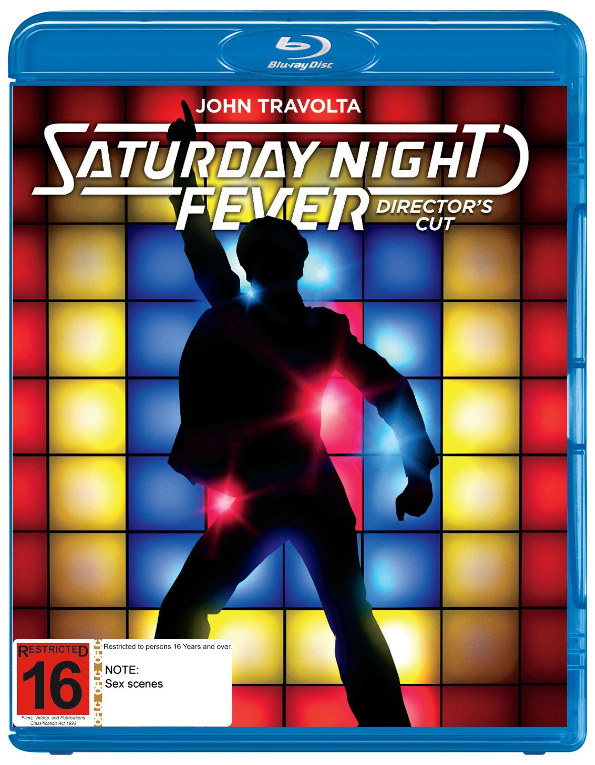Saturday Night Fever - 40th Anniversary Edition on Blu-ray image