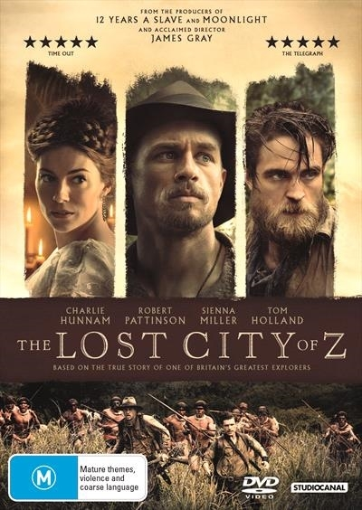 The Lost City Of Z on DVD