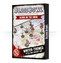 Blood Bowl: Blood on the Snow Pitch & Dugouts