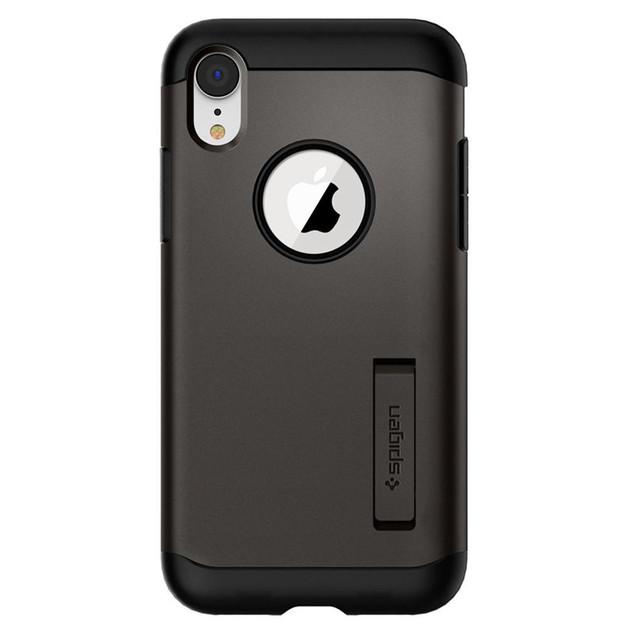 Spigen: Slim Armor Case for iPhone XR - Gunmetal