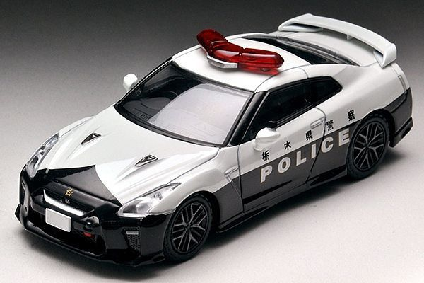 1/64 NISSAN GT-R Patrol Car - Diecast Car