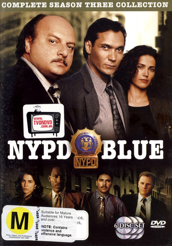 NYPD Blue - Season 3 (6 Disc) on DVD image