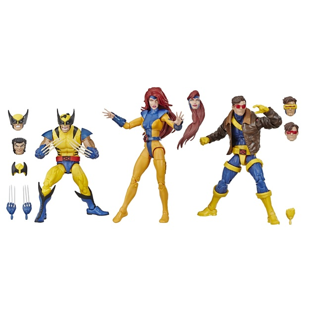 Hasbro Marvel Legends Series: 6-inch Collectible Action Figures X-Men (3-Pack)