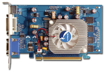 ALBATRON 7300GS 256MB DDR TV OUT, PCI-EXPRESS image