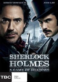 Sherlock Holmes: A Game of Shadows on DVD