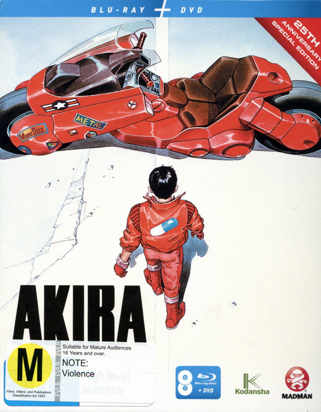 Akira - 25th Anniversary: Special Edition on DVD, Blu-ray image ...