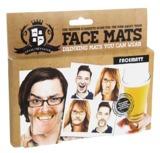 Face Mats - Wearable Drinking Mats