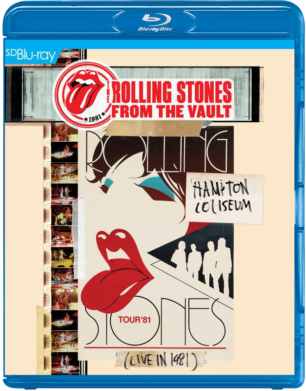 Rolling Stones From The Vault - Hampton Coliseum - Live In 1981 on Blu-ray