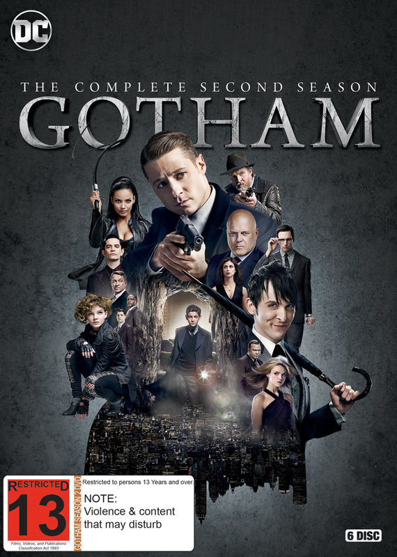 Gotham - The Complete Second Season on DVD