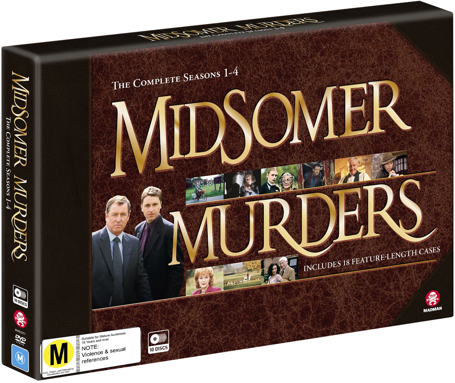 Midsomer Murders: Season 1 - 4 Collection (Limited Edition) on DVD image