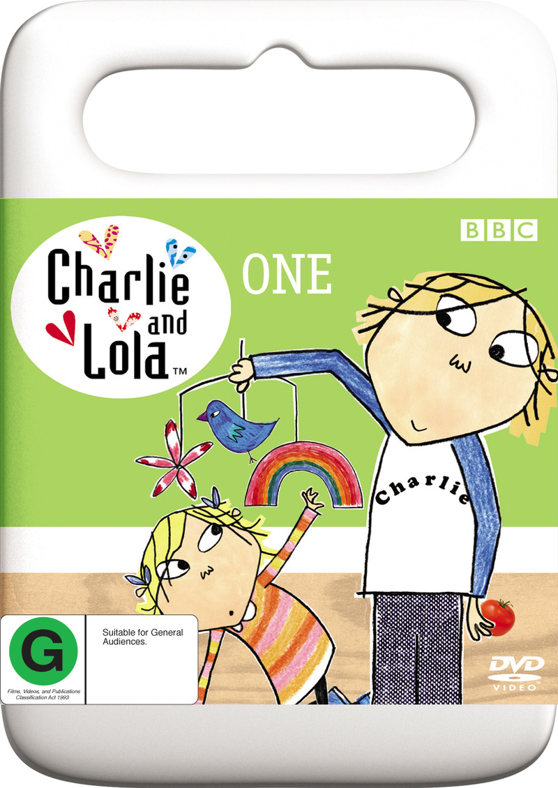 Charlie and Lola - One (Handle Case) on DVD image