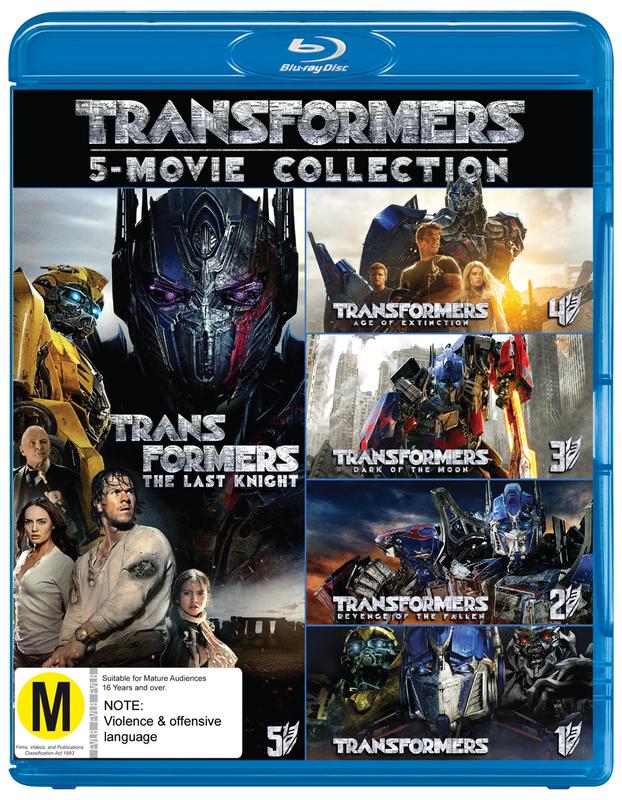 Transformers - 1-5 Boxset on Blu-ray