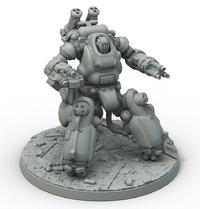 Fallout: Wasteland Warfare Robots- Sentry Bot
