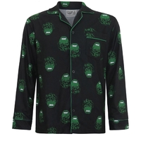 Marvel: Hulk All Over Print - Pajama Set (Small)