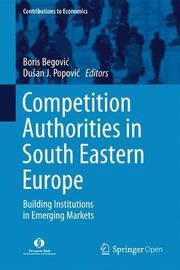Competition Authorities in South Eastern Europe