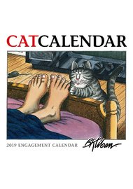 B.Kilban Cat 2019 A5 Weekly Diary