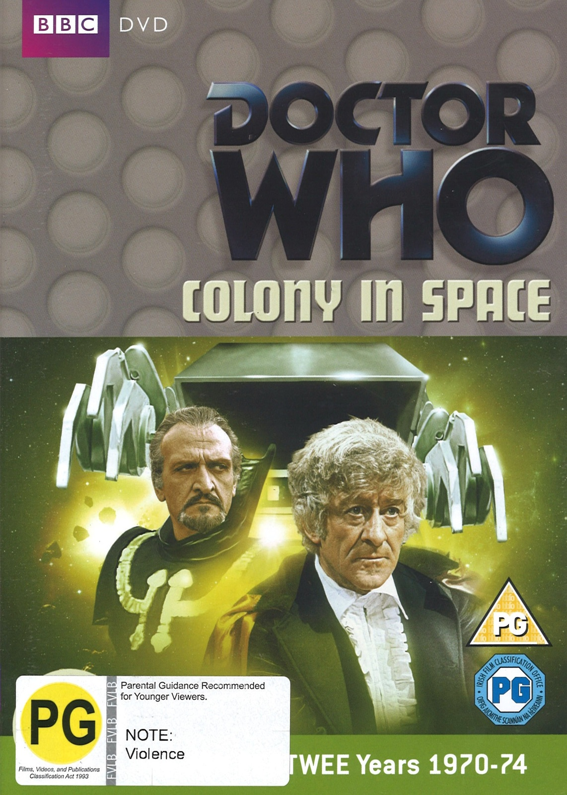 Doctor Who: Colony in Space on DVD image