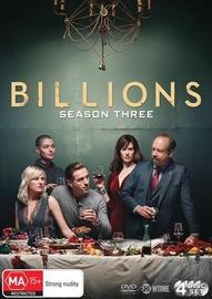 Billions: Season 3 on DVD