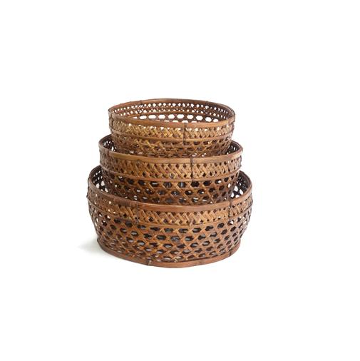 Raffles Round Baskets