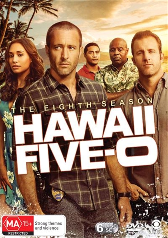 Hawaii Five-0 - The Complete Eighth Season on DVD