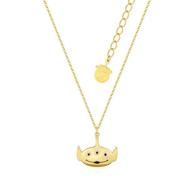 Couture Kingdom: Disney Pixar Toy Story Alien Necklace - Gold