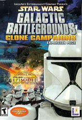 Star Wars: Galactic Battlegrounds Clone Campaign for PC