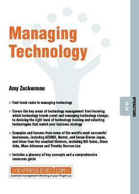 Managing Technology by Amy Zuckerman image